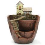 Оригинал Sky Сад Суккулентные растения Дом Трава Цветочный горшок Корзина Плантатор Домашний декор
