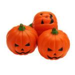 Оригинал 3PCS 7CM Squishy Simulation Случайные Hallowmas Slow Rising Smile Pumpkin Squishy Fun Toys Украшение