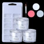 Оригинал Nail Extension UV Gel 100Pcs False Tips Kit