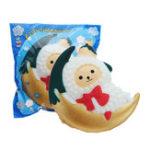 Оригинал Moon Sheep Squishy 10.4 * 8.4CM Cute Slow Rising Toy Decor Подарок с оригинальной упаковкой
