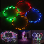 Оригинал Colorful 90 см Складной LED Flash Свет Фитнес Игрушка для упражнений