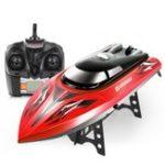 Оригинал SYMAQ12.4G43cm180градусов Flip Rc Лодка 30km / h High Speedboat с системой водяного охлаждения