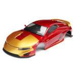 Оригинал Killerbody 48720 Hero Chariot Готовое тело Metallic-red & gold Shell для 1/10 Electric Touring Авто