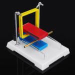 Оригинал DIY Модель магнитного поля для текущего эффекта Текущий магнитный полевой демонстрационный эксперимент