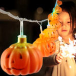 Оригинал MoFun 16PCS Halloween Pumpkin LED String Light Игрушка Украшение Игрушки Party Home Decor