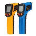 Оригинал 600 ℃ Инфракрасная цифровая температура LCD Лазер Термометр Бесконтактный IR Новый