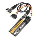 Оригинал VER006 BTC ETH Pcie PCI-E 1x 16x Extender Riser Card Адаптер расширения USB 3.0 Mining Cable