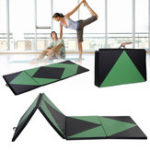 Оригинал 120x48x2inchСкладнойгимнастическийковрикYogaУпражнение тренажерный зал Airtrack Panel Tumbling Восхождение Pilates Pad Air Track