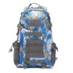 Оригинал 48LНаоткрытомвоздухеТактическийрюкзак Водонепроницаемы Nylon Плечевой мешокSport Кемпинг Пешеходный туристический дневной пакет
