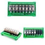 Оригинал TKG2R-1E-K824 8-канальный релейный модуль Omron PLC Контроллер усилительной панели DC 12V / DC 24V