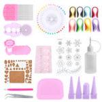 Оригинал Бумага Quilling DIY Ремесло Инструмент Полное Набор Ручная работа Доска для разметки сетки Набор для развития игрушки