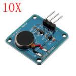 Оригинал 10шт Вибрация Мотор Модуль Mini Flat Vibrating DC Мотор для Arduino