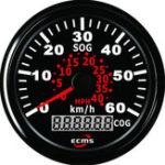 Оригинал AU 85mm Водонепроницаемы Auto Авто Truck Marine GPS Цифровой измеритель скорости метра