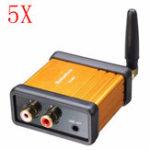 Оригинал 5шт. SANWU® HIFI-Class Bluetooth 4.2 Аудио Приемник Усилитель Авто Стереомодификация Поддержка APTX Low Delay