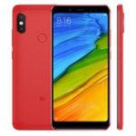 Оригинал XiaomiкрасныйmiNote5GlobalVersion 5,99 дюйма 4 ГБ 64GB Snapdragon 636 Octa core 4G Смартфон Красный