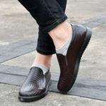Оригинал МужчинывскользьSoftSoleSlipOn Flats Водонепроницаемы Flat Loafers