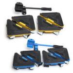 Оригинал 5PCS мебельный подъемник перемещает трехколесные двигатели Slider Набор Набор Мебель Moving System