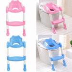 Оригинал Детский туалет Potty Trainer Seat Активизировать Тренировочный стул для стула Toddler с лестничной накладкой