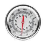 Оригинал Compost Soil Термометр Сад Изгиб из нержавеющей стали из биметалла из нержавеющей стали Зонд