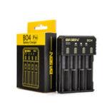 Оригинал Basen BO4 Pro Smart Li-ion Батарея Зарядное устройство для 14500 18650 26650 21700 SC C Ni-MH Ni-CD Батарея