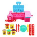Оригинал DIY Пластилин детской игры мороженого Инструмент Set Развивающие игрушки
