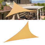 Оригинал ТреугольникВодонепроницаемыТентSunshadeSailСад Патио Тент Canopy Sunscreen UV На открытом воздухе Кемпинг