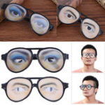 Оригинал Halloween Costume Party April Fool's Day Eyewear Toys Funny Очки Маска Masquerade Cosplay Макияж Очки Funny Costume Eye Очки Игрушка Halloween Party Prop Gag Gift