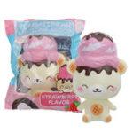 Оригинал Yummiibear Bear Squishy 14CM Лицензионная медлительная коллекция подарков мультфильмов Soft Игрушка с упаковкой