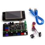 Оригинал MKS-GEN L V1.0 Интегрированный основной контроллер + 3.2 дюймов MKS-TFT32 Full Color LCD Поддержка сенсорного экрана Power Resume Print BT APP для 3D-принтера