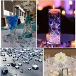 Оригинал СвадебноеУкрашения1000PCS4,5ммАкриловые кристаллы Конфетти Свадебное Таблица Рассеиватель Украшение Event Party Centerpiece
