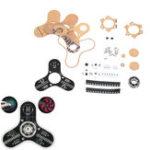 Оригинал DIY LED Дисплей Вращающийся наконечник гироскопа Набор Электронное производство LED Дисплей Модуль Набор
