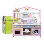 Оригинал Деревянная кухня Pretend Play Игрушка Дети Развивающие игрушки Малыши Кулинария Главная Детская посуда
