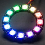 Оригинал 10Pcs CJMCU 12 бит WS2812 5050 RGB LED Совет по разработке драйверов