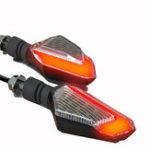 Оригинал 22LED Spirit Beast Pair 12V мотоцикл Сигнальная лампа дневного света с подсветкой 10MM IPX6