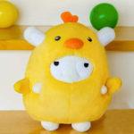 Оригинал XIAOMI Фаршированная плюшевая игрушка Soft Желтый цыпленок Кукла Коллекция подарка поклонника ребенка