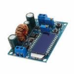 Оригинал LCD Digital Дисплей Плата модуля питания Buck-Boost Постоянное напряжение постоянного тока Кристалл Вольтметр Амперметр Регулируемый