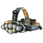 Оригинал XANES2606-83300LM2*T6 + 4 * XPE + 2 * COB 6 режимов Велосипедная фара 2 * 18650 Батарея USB-перезаряжаемый интерфейс
