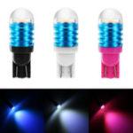 Оригинал 2Pcs T10 W5W LED Клин Авто Боковые маркерные огни Интерьерные лампы для ламп Лампа 12V 3W