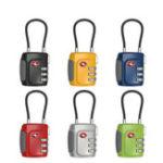 Оригинал TSA Утвержденная комбинация номеров 3 Digit Padlock Travel Багаж Безопасность пароля для пароля Замок