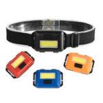 Оригинал XANES201450LMCOBLEDUltralight Headlamp 3 Режимы переключателя Регулируемая Кемпинг Запуск 3 * AAAA Батарея