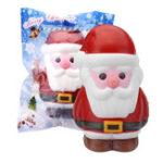 Оригинал Cooland Santa Claus Squishy 14.2 × 8.4 × 9.2CM Soft Медленное восхождение с коллекцией подарков для подарков