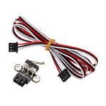 Оригинал 5Pcs Горизонтальный Тип Механический Концевой выключатель с кабелем 1 м для ретрансляции трехмерных принтеров Ramps1.4