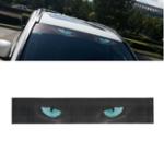 Оригинал Кот Глаз Авто Передние задние наклейки для лобового стекла Перспектива Sunshade Sun Shade Декоративная наклейка