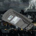 Оригинал 20W 40 LED Солнечная Радарное движение активировано Датчик Wall Street Light для На открытом воздухе