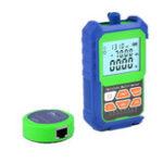 Оригинал 2 IN 1 Сетевой тестер измерителя оптической мощности с самотестированием оптического волокна RJ45 с 6 длинами волн