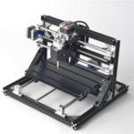 Оригинал Черный24183AxisMovableCNC Router Wood Engraver Фрезерная гравировальная машина C 2500mW Лазер Модуль