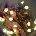 Оригинал LUSTREON Батарея Powered 2M 20LED Кот Fairy String Light Рождество Свадебное Party Home Decoration