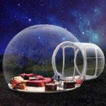Оригинал 3.5m Надувной палаточный туннель Bubble Eco Home Tent Прозрачный дом Luxury Dome