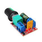 Оригинал 3Pcs DC 3V до DC 35V 5A 90W Mini DC Мотор PWM Регулятор скорости регулятора скорости Регулируемый модулятор модулятора электронного модуля