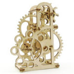 Оригинал 3D Механический Модель Dynamometer Brain Teaser Деревянные игрушки для головоломок Ideal Birthday Creative Gift